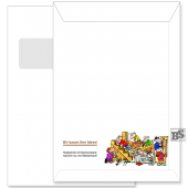 Fenster-Briefhülle (Motiv 182) C4
