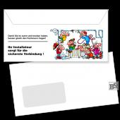 Fenster-Briefhülle (Motiv 231) DL
