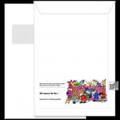 Fenster-Briefhülle (Motiv 241) C4