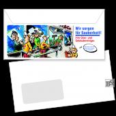 Fenster-Briefhülle (Motiv 251) DL