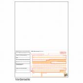 SEPA-Laser-Zahlschein - Überweisungsformular DIN A4 mit DE-Kennung