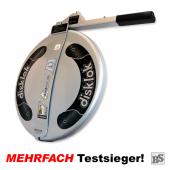 Lenkradkralle BS-Disklok SILBER + Lenkradschoner