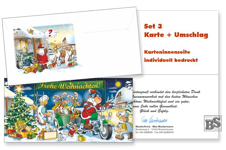 Weihnachtskarten Firma Individuell.Maler Weihnachtskarte Set 3 Individuell Produkte Im überblick